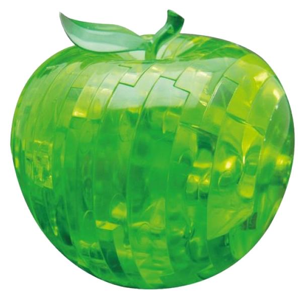 Купить Яблоко зеленое, 3D-пазл Crystal Puzzle 44 детали,