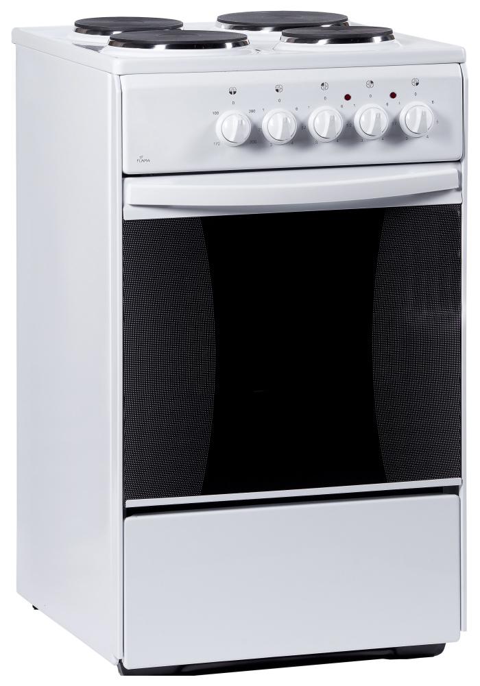 Электрическая плита Flama AE 1406 W White