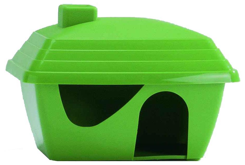 Домик для грызуна Beeztees пластик 10.5х11.5х15.5см цвет в ассортименте.