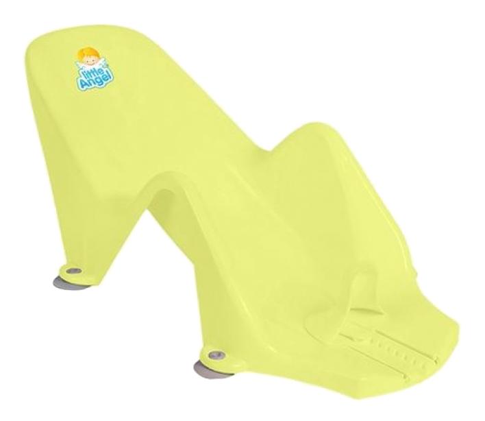 Купить Горка для купания малыша Plastic Republic Little Angel Дельфин желтый,