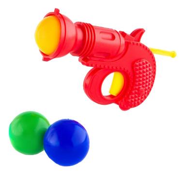 Игровой набор Пластмастер Тир с шарами.