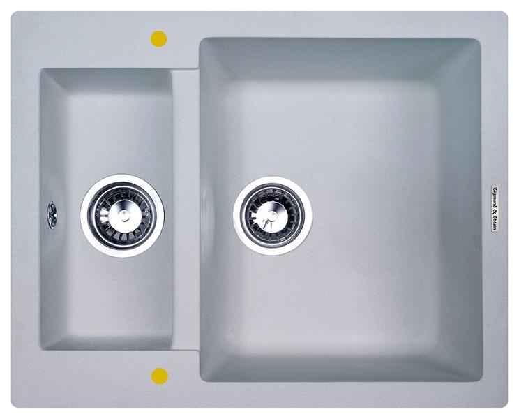 Мойка для кухни гранитная Zigmund #and# Shtain RECHTECK 600,2 млечный путь