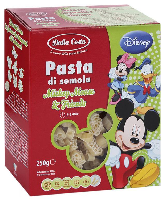Макароны Dalla Costa Disney Микки Маус