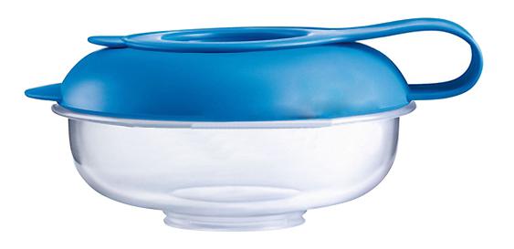 Контейнер для хранения пищи MAM С синей крышкой фото