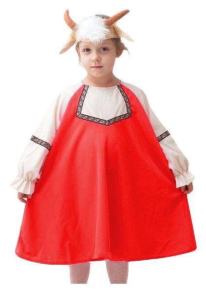 Купить 1626, Карнавальный костюм Бока Коза, цв. красный р.122,