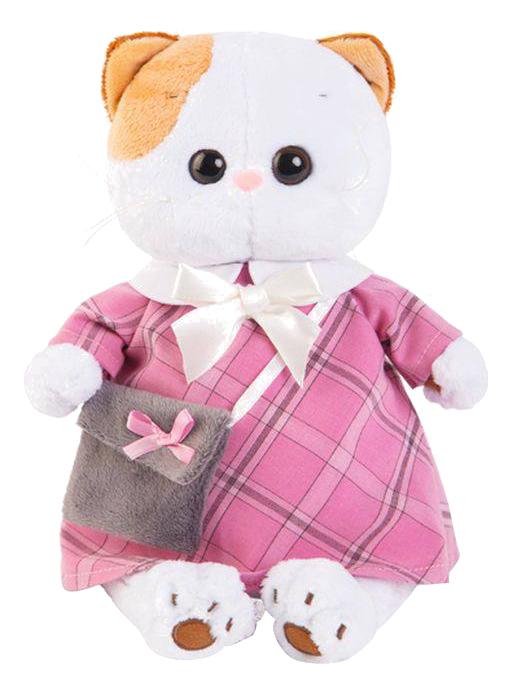 Мягкая игрушка BUDI BASA Ли Ли в Розовом Платье с Серой Сумочкой Lk24 007 фото