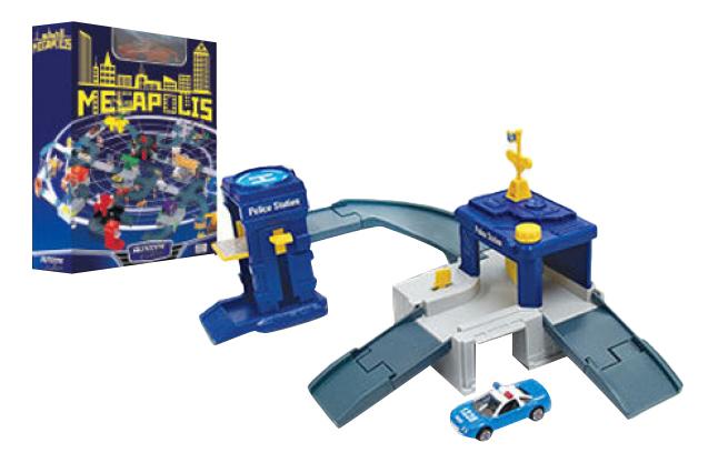 Коллекционная модель Autotime Megapolis Police Полиция