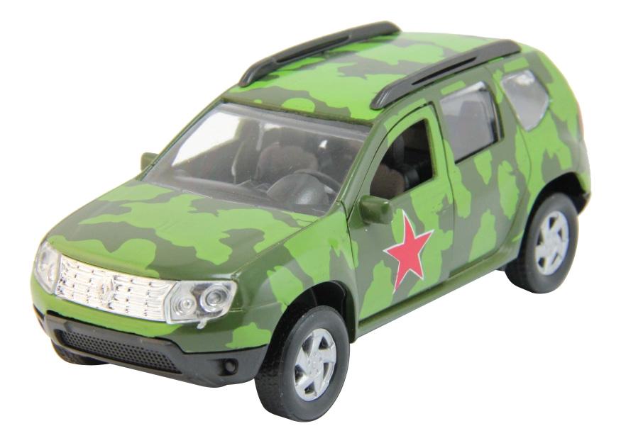 Машина Renault Duster армейская 1:38 Autotime 49494 фото