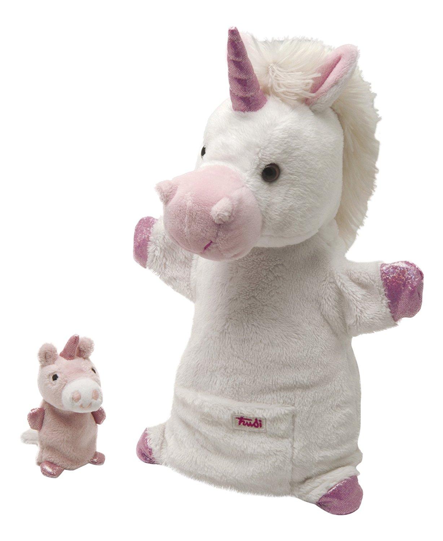 Мягкая игрушка Trudi Единорог с детенышем 28 см 29988