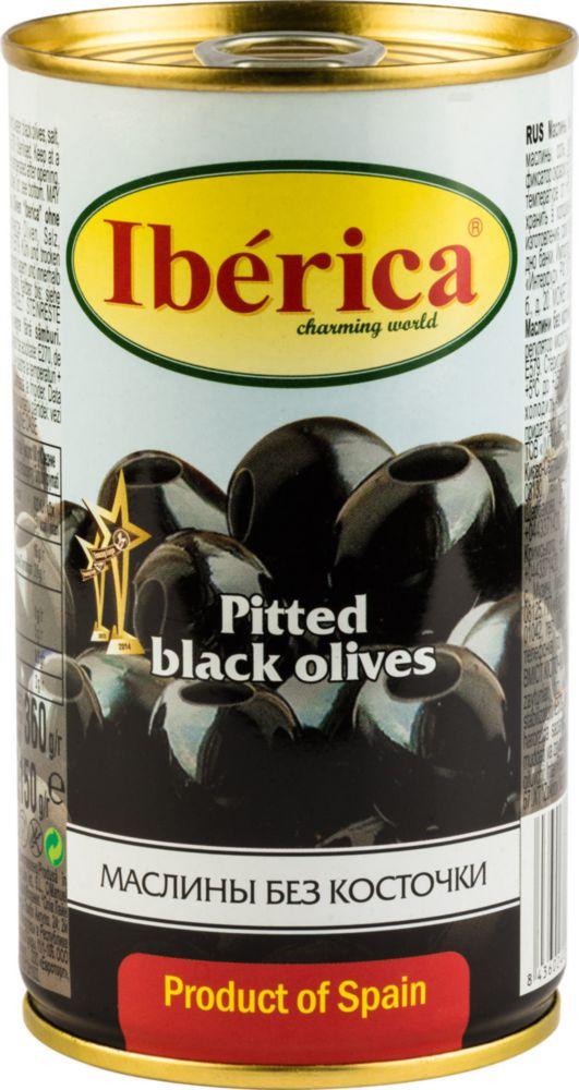 Маслины Iberica без косточки 360 г