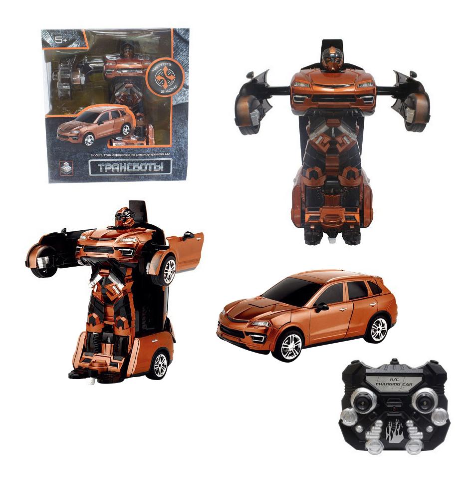 Робот-трансформер 1toy Трансботы оранжевый, 1 TOY, Радиоуправляемые роботы  - купить со скидкой