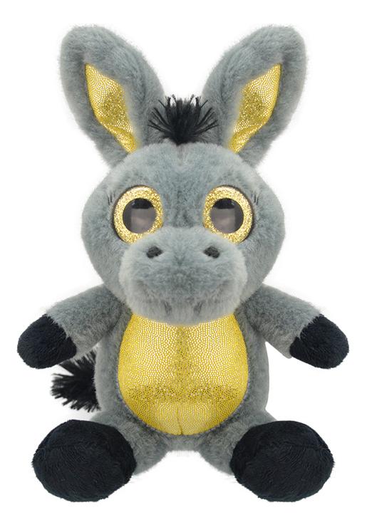 Купить Мягкая игрушка Wild Planet Ослик k7848 23 см пластик, Мягкие игрушки животные