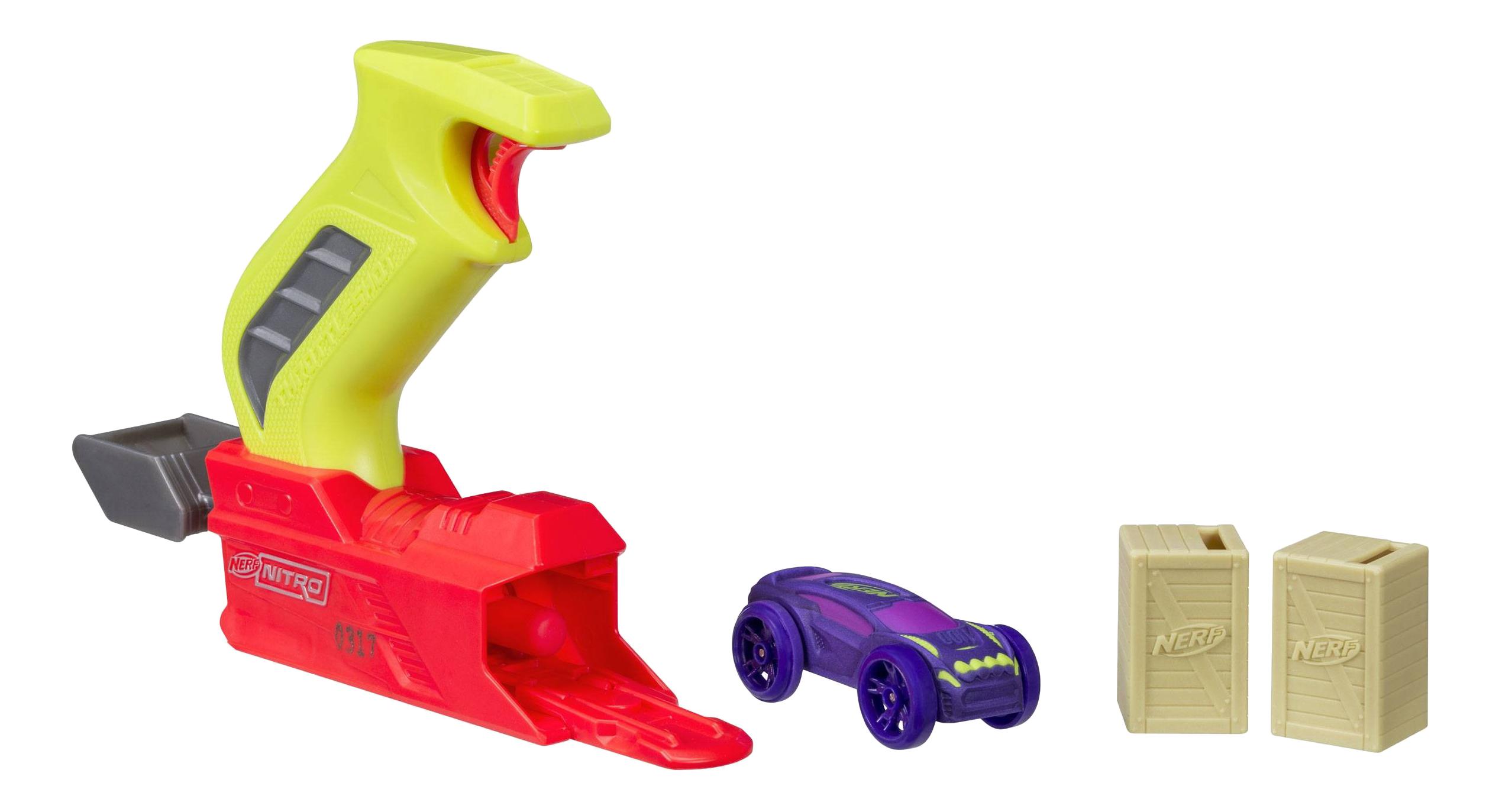 Купить Бластер с пусковым устройством nerf nitro, Hasbro Nerf Hasbro Nerf C0780 Нёрф Нитро Пусковое Устройство, Игровые наборы