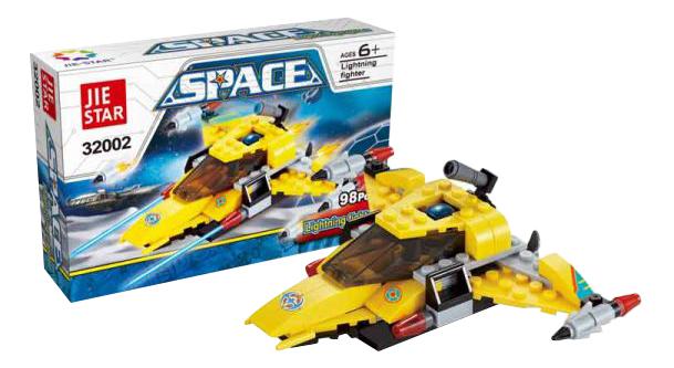 Купить Конструктор Jie Star Space 98 деталей Shantou Gepai A843-H26125, Конструкторы пластмассовые