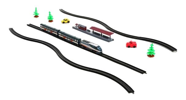 Купить Стартовый Набор железной дороги поезд-экспресс 1:87 Gratwest Б23445, Детские железные дороги