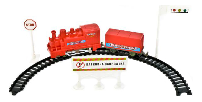 Железная дорога Играем вместе Красная стрела O124-H06005-R