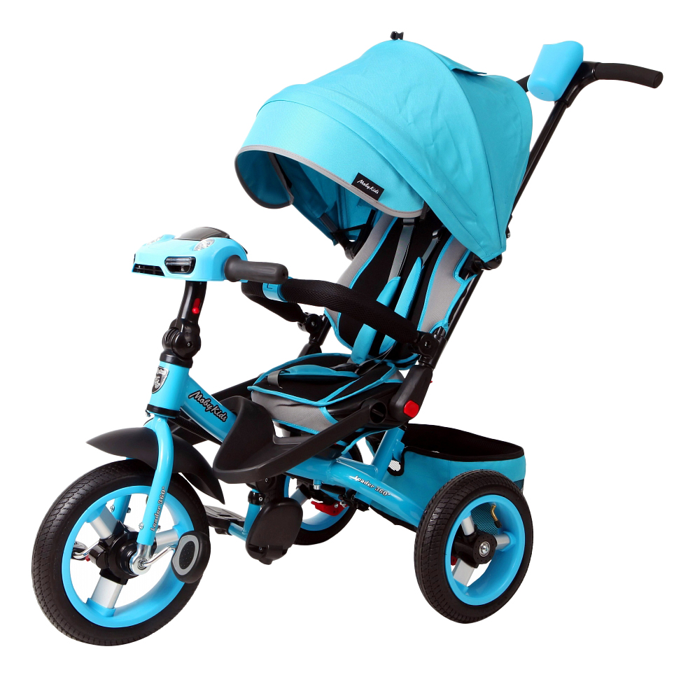 Купить Leader 360° бирюзовый, Велосипед Moby Kids Leader 360 бирюзовый 641072, Детские велосипеды-коляски