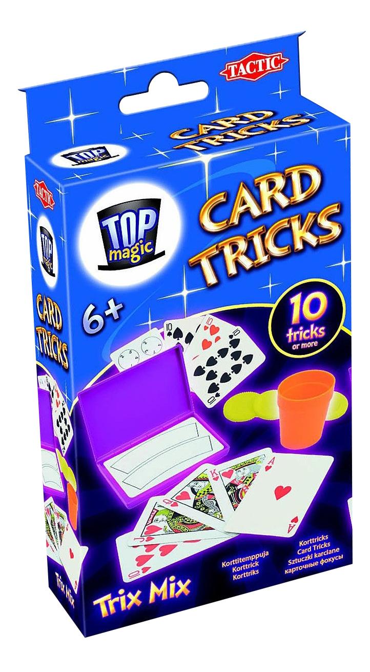 Настольная игра Tactic Games Карточные фокусы