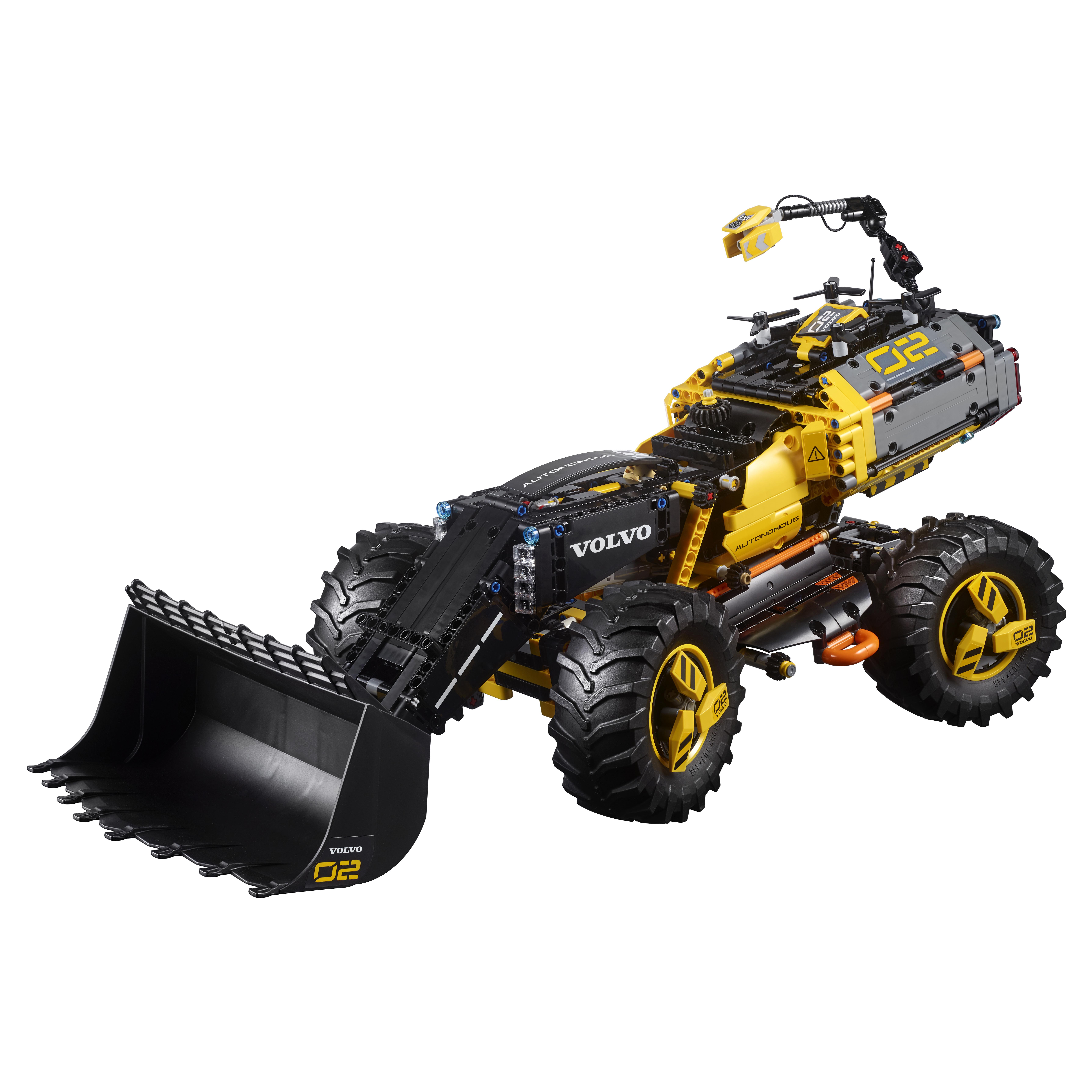 Конструктор LEGO VOLVO колёсный погрузчик ZEUX 42081