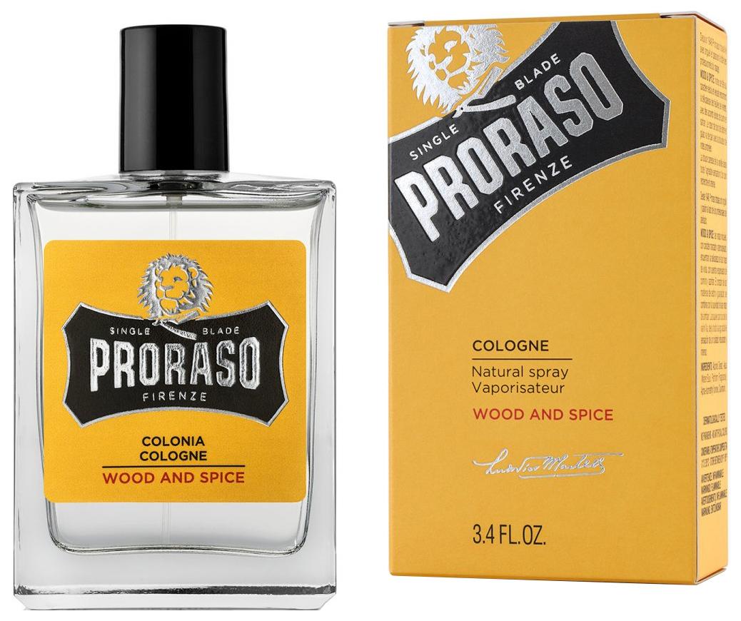 Одеколон Proraso Wood & Spice 100 мл