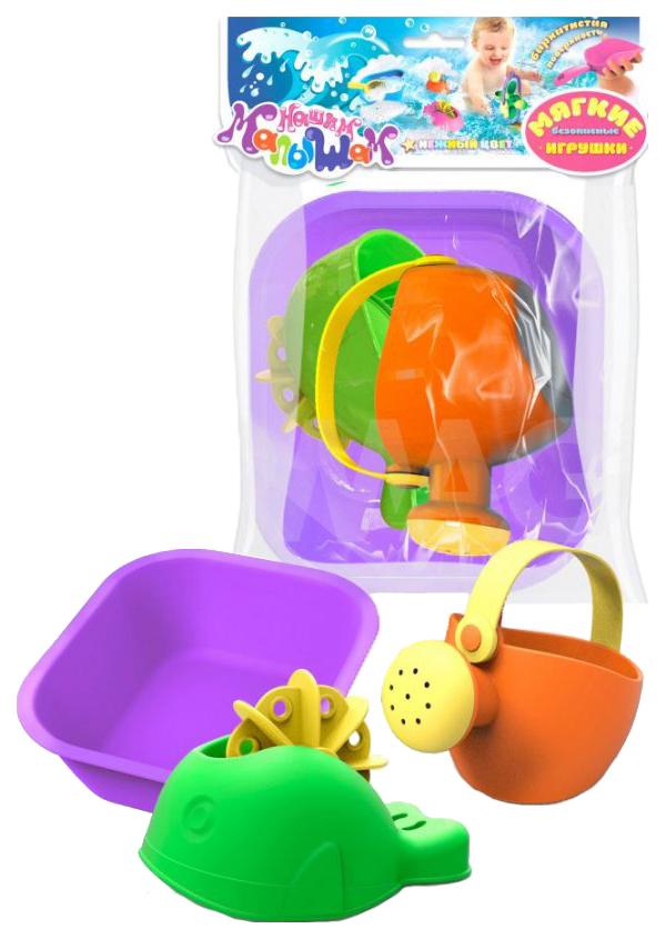 Купить Набор игрушек для ванны Биплант №5 4 предмета, Игрушки для купания малыша