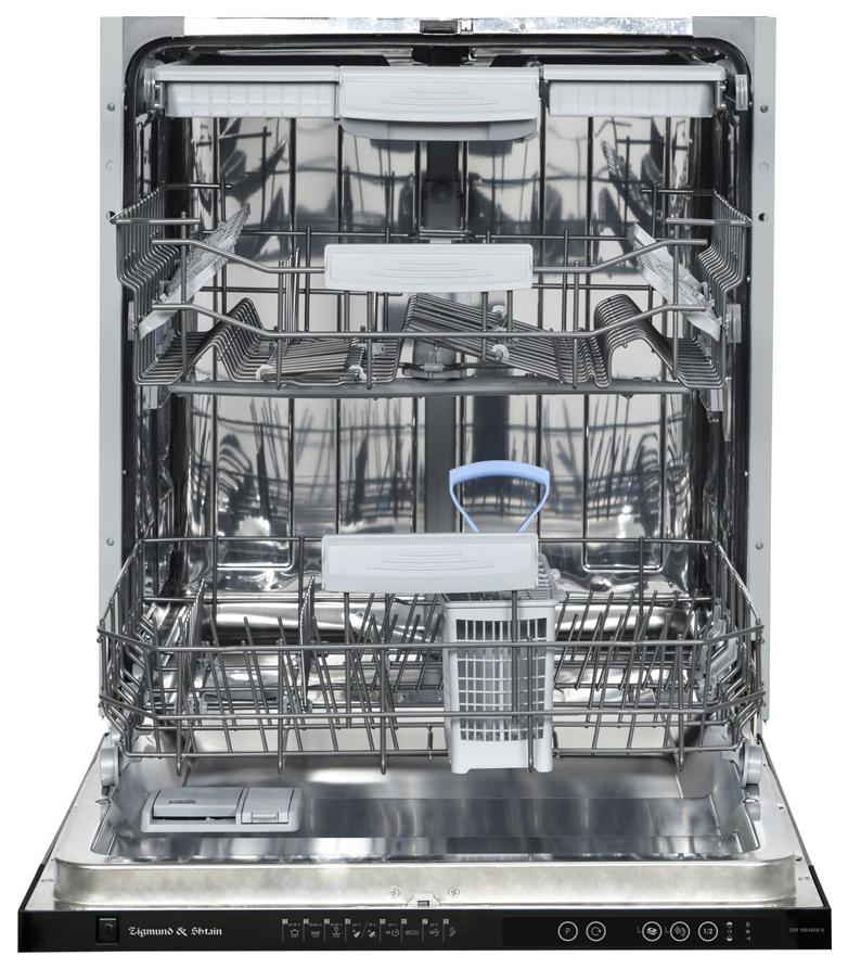 Встраиваемая посудомоечная машина 60 см Zigmund & Shtain DW 169.6009 X фото