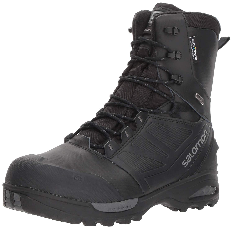 Ботинки Salomon Toundra Pro CSWP мужские черные