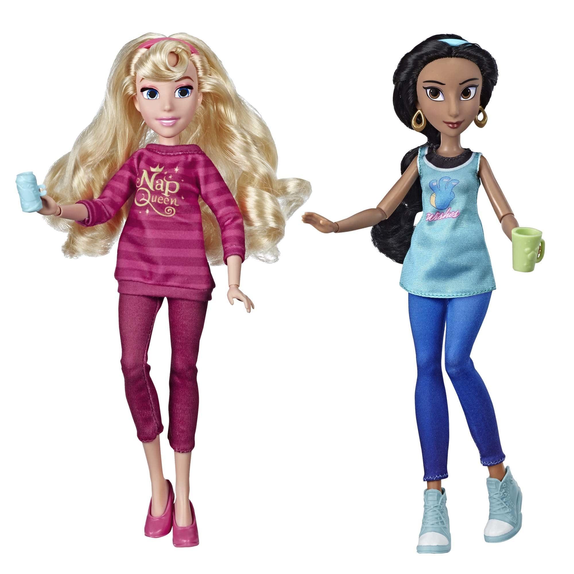 Купить Куклы Disney Princess Жасмин и Аврора - Ральф против интернета E7416,