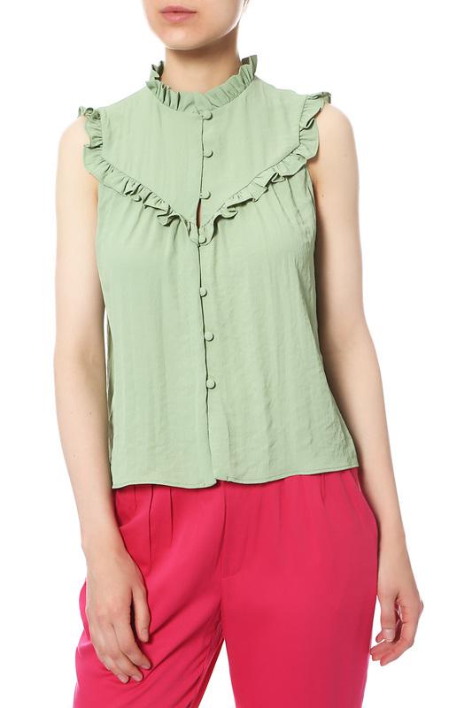 Блуза женская MANGO 11030824-45 зеленая M