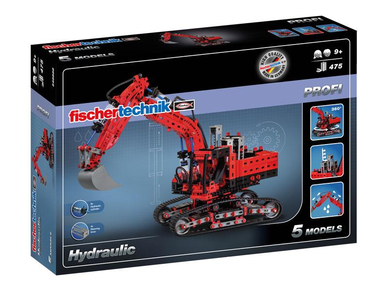 Купить Hydraulic / Гидравлика, Конструктор пластиковый Fischertechnik PROFI Hydraulic Гидравлика,