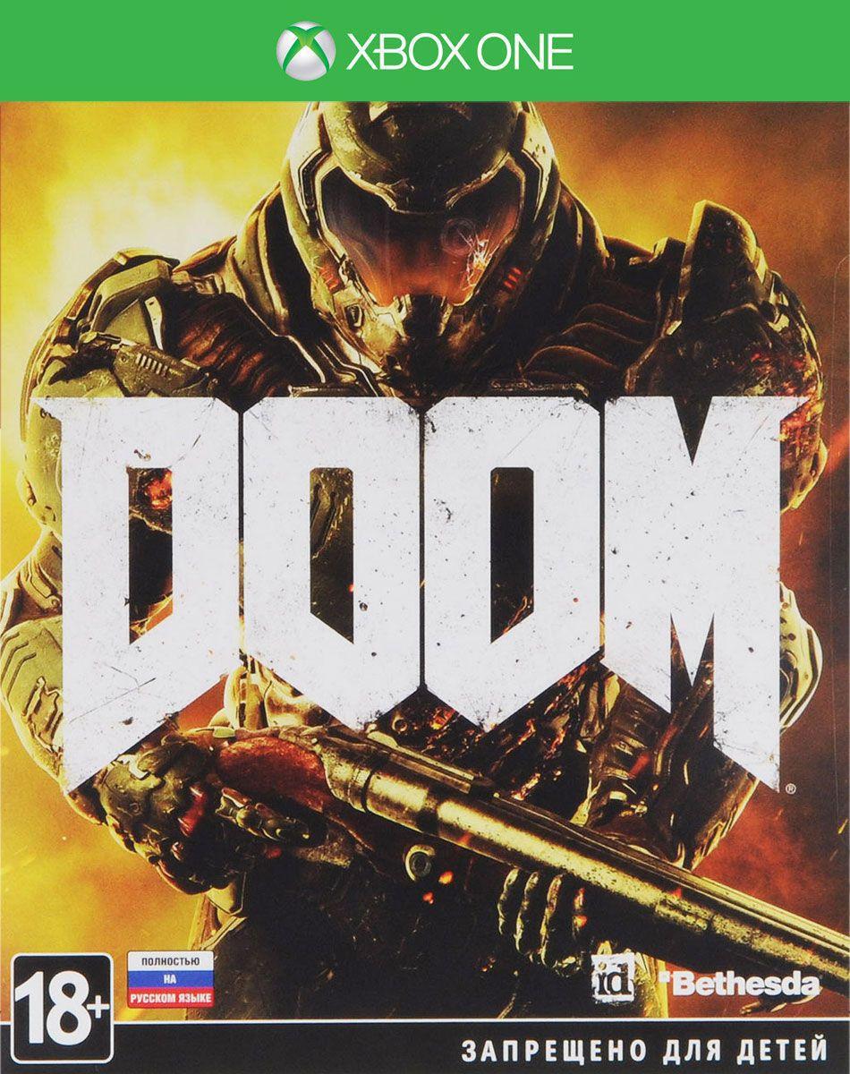Игра DOOM для Xbox One Bethesda ИГРА XBOX ONE DOOM RU