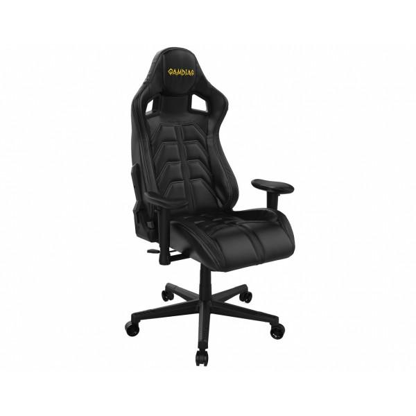 Кресло игровое Gamdias Ulisses MF1 GCUMF1BW, белый/черный фото