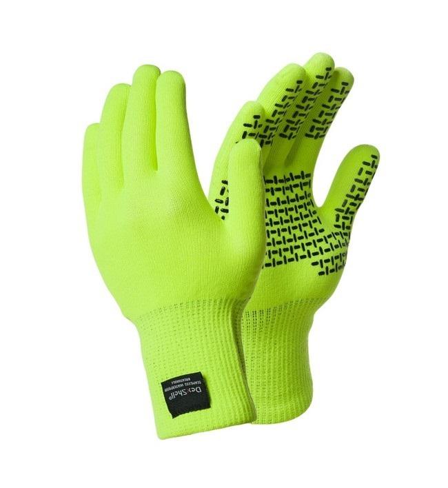 Перчатки мужские DexShell TouchFit HY Gloves, зеленые,