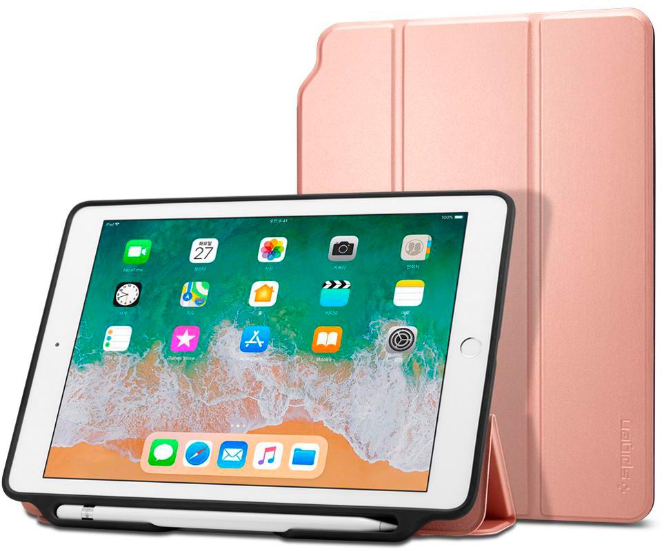 Чехол Spigen Smart Fold 2 для iPad Pink