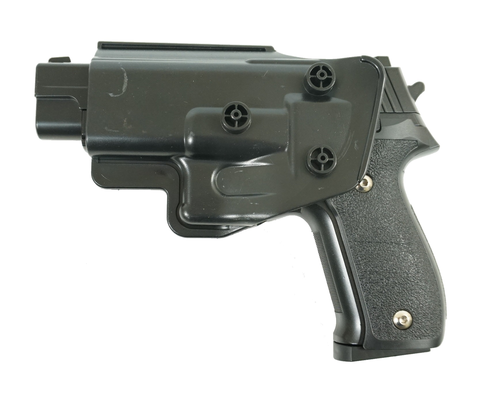 Страйкбольный пружинный пистолет Galaxy Китай (кал. 6 мм) G.26+ (SIG226) с кобурой фото