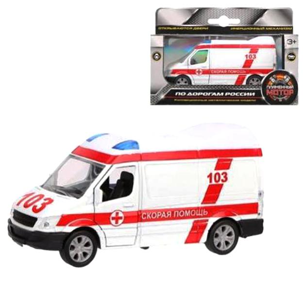 Купить Машина спецслужбы Пламенный мотор Скорая медицинская помощь 870361, Спецслужбы