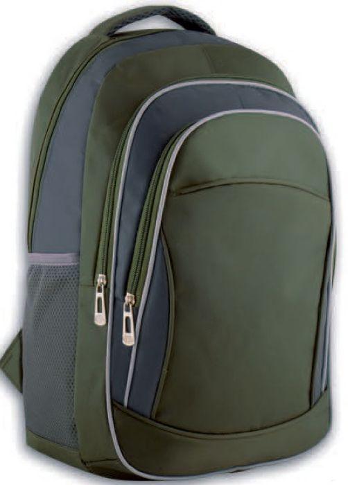 Рюкзак детский Феникс+ Хаки + серый 44393