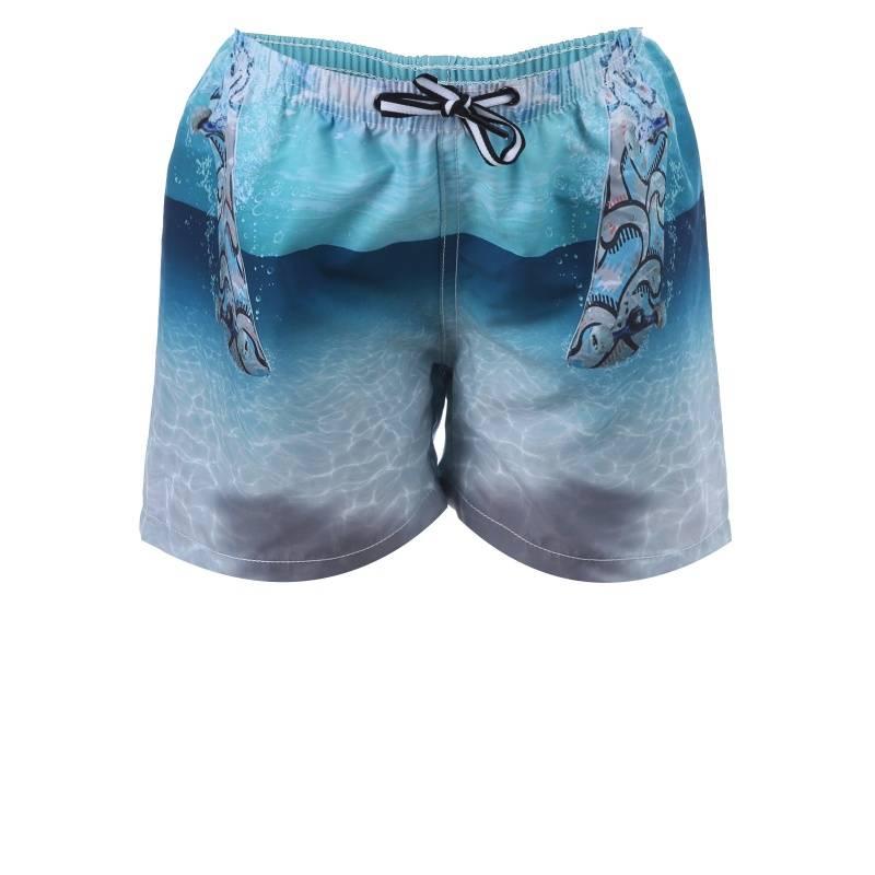 Купить Шорты для плавания Niko Molo, цв. бирюзовый, 152 р-р, Детские брюки и шорты
