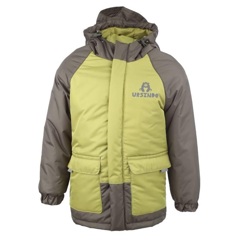Купить Дд-0418, Куртка Джек URSINDO, цв. хаки, 134 р-р, Куртки для мальчиков