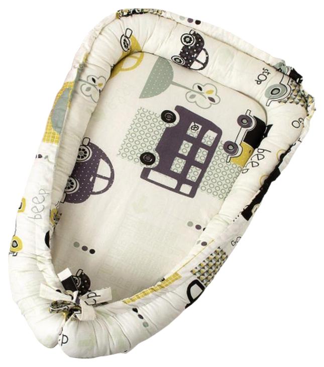 Купить Подушка-Позиционер WB для сна AmaroBaby кокон-гнездышко, LITTLE BABY Город, Детские подушки