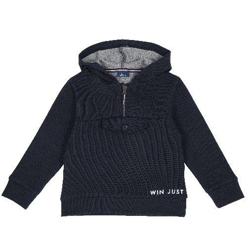 Купить 9069391, Толстовка Chicco для мальчиков р.92 цв.темно-синий, Кофточки, футболки для новорожденных