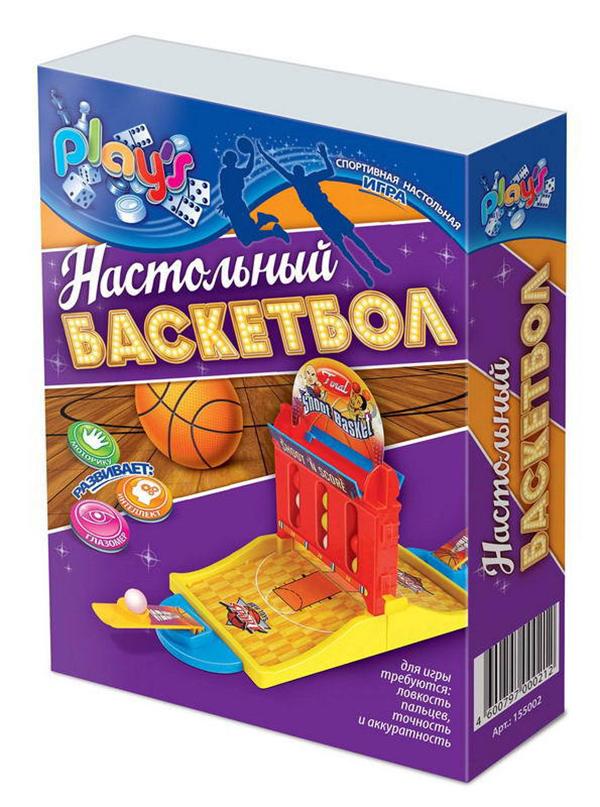 Игра настольная Рlay`S. «Настольный баскетбол»