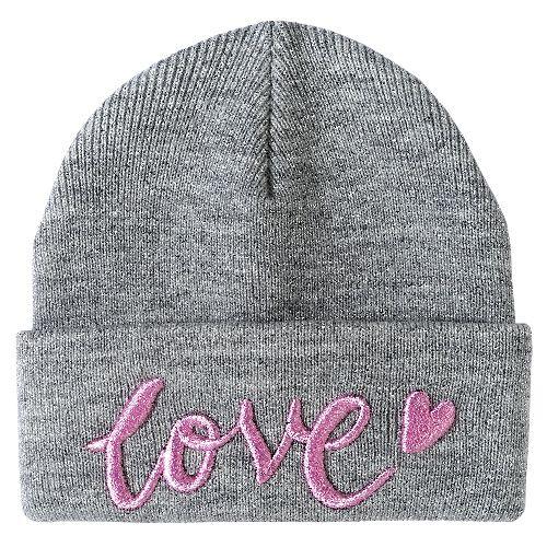 Купить Шапка Chicco Blove для девочек р.4 цвет светло-серый, Детские шапки