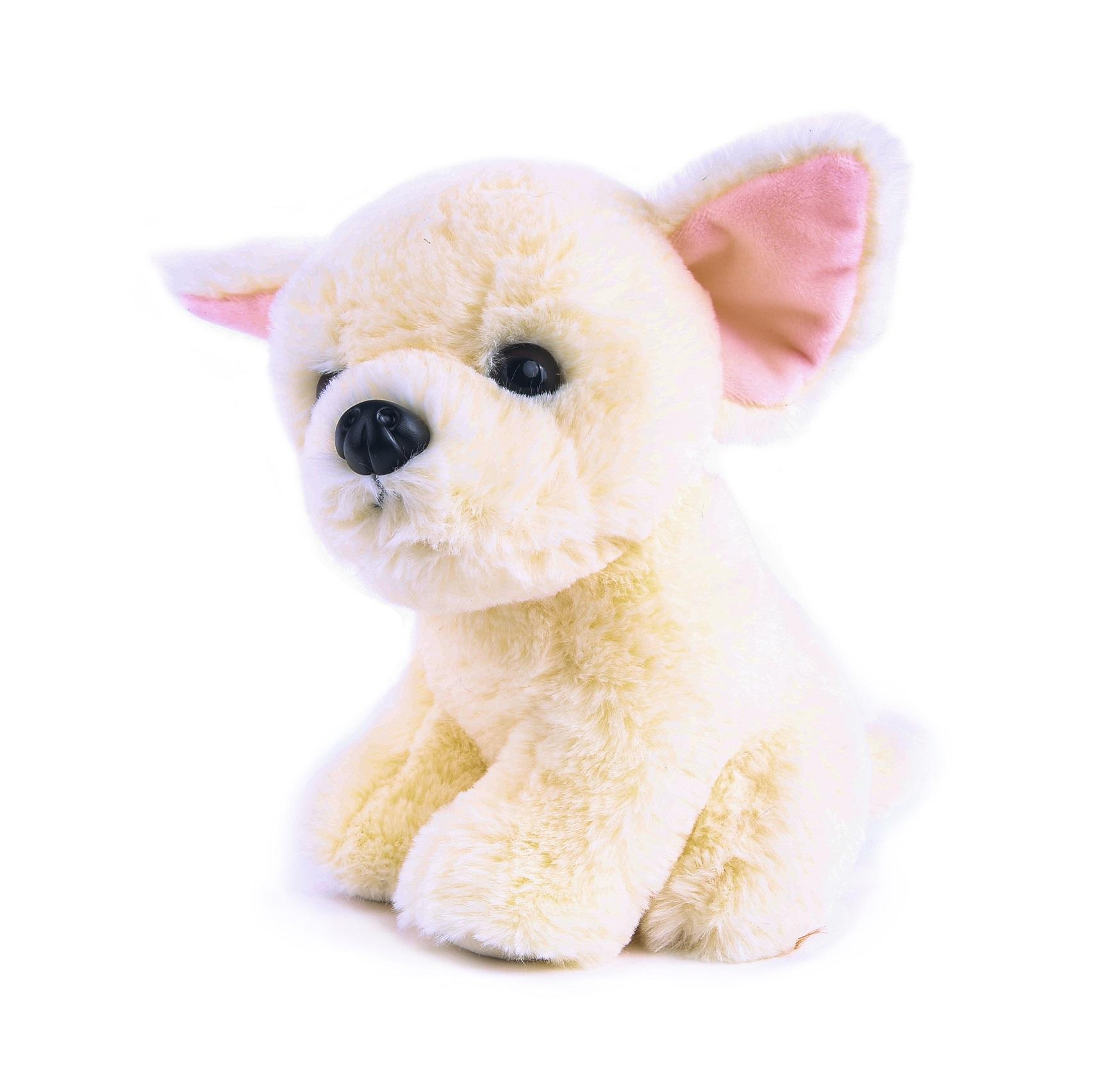 Купить Мягкая игрушка Button Blue Собачка Чау-чау, 20 см, Мягкие игрушки животные