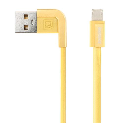 Кабель Remax Cheynn (RC-052i) для iPhone Lightning (1m) gold