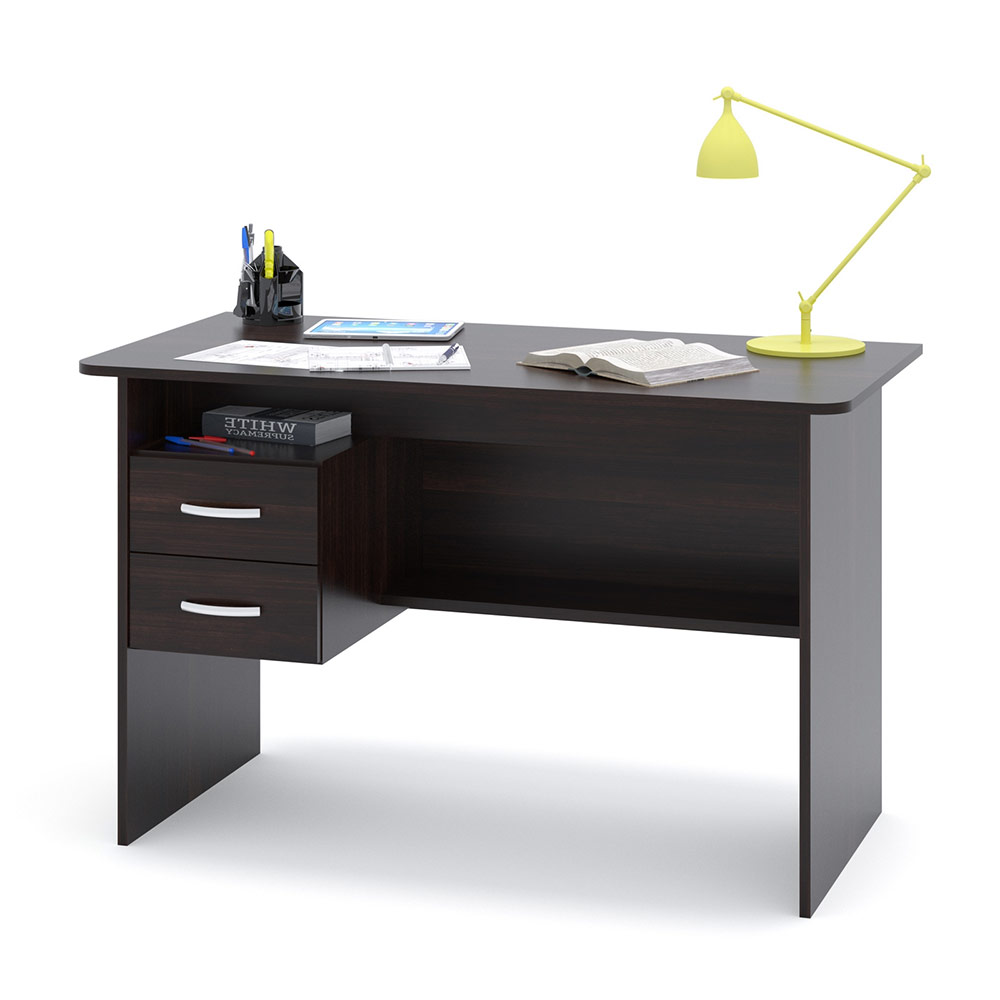 Письменный стол Сокол СПМ-07.1 дуб венге, 120х60х74 см.