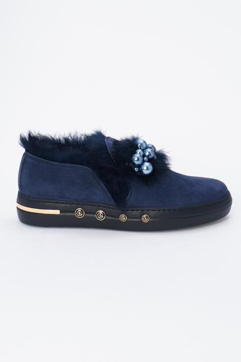 Туфли женские Baldinini 948002TKILA1310XXRLX синие 37 RU фото