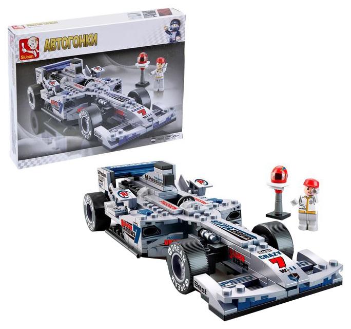 Конструктор Формула: гоночный болид 267 деталей Sluban