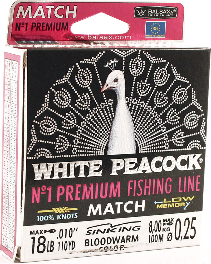 BALSAX WHITE PEACOCK MATC