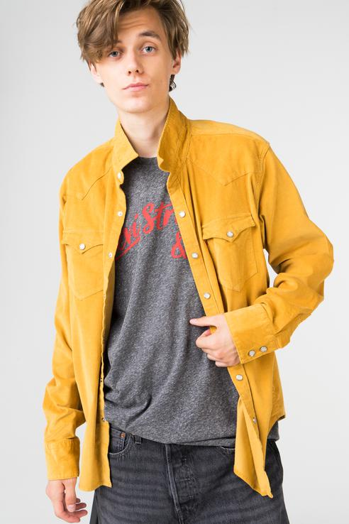 Рубашка мужская Levi's 6581602820 желтая L